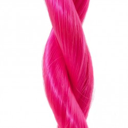 Clip-in prúžok, 50 cm - ružová