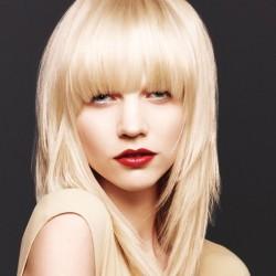 Clip in ofina, 30g REMY - platinové blond