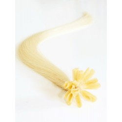 Keratin, 40 cm 0,7g/pr., 50 ks - najsvetlejšie blond