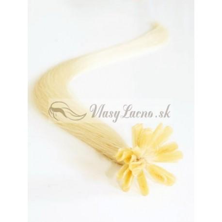 Keratin, 50 cm 0,5g/pr., 50 ks - najsvetlejšia blond