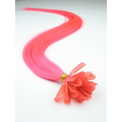 Keratin, 50 cm 0,7g/pr., 50 ks - ružová
