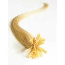Keratin, 60 cm 0,7g/pr., 50 ks - prírodná blond