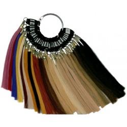 Vzorkovník vlasov na predĺženie - 29 farieb