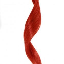 Clip-in prúžok, 50 cm - červená