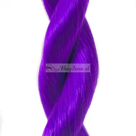 Clip-in prúžok, 50 cm - fialová