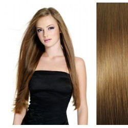 Svetlo hnedé CLIP IN vlasy na predĺženie - 40-43 cm