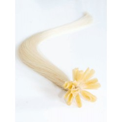 Keratin, 50 cm 0,5g/pr., 50 ks - platinová blond