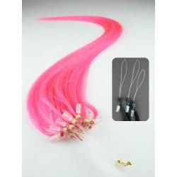 Micro ring, 40 cm 0,5g/pr., 50 ks - ružová