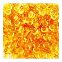Keratínové granulky 10g - jantárová