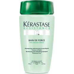 KÉRASTASE Résistance Bain De Force šampón pre krehké, lámavé vlasy 250ml